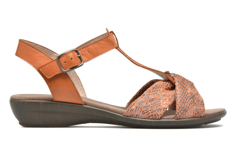 Sandales et nu-pieds Sweet Zoumba Orange vue derrière