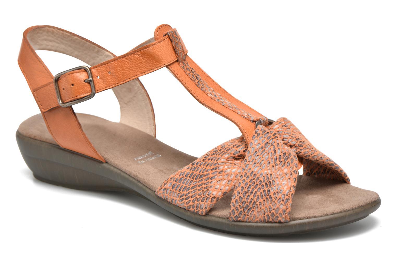 Sandales et nu-pieds Sweet Zoumba Orange vue détail/paire
