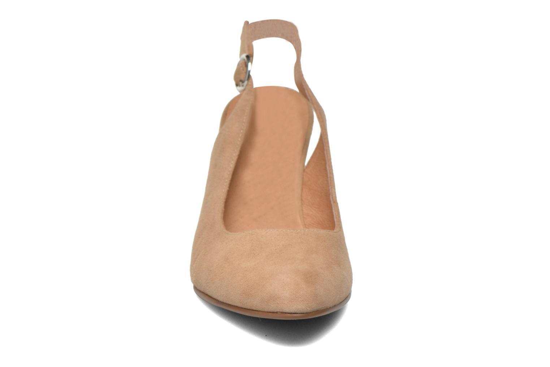 Escarpins Karston Avalou Beige vue portées chaussures