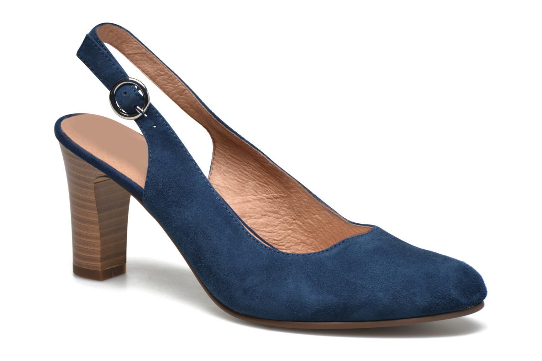 Escarpins Karston Avalou Bleu vue détail/paire