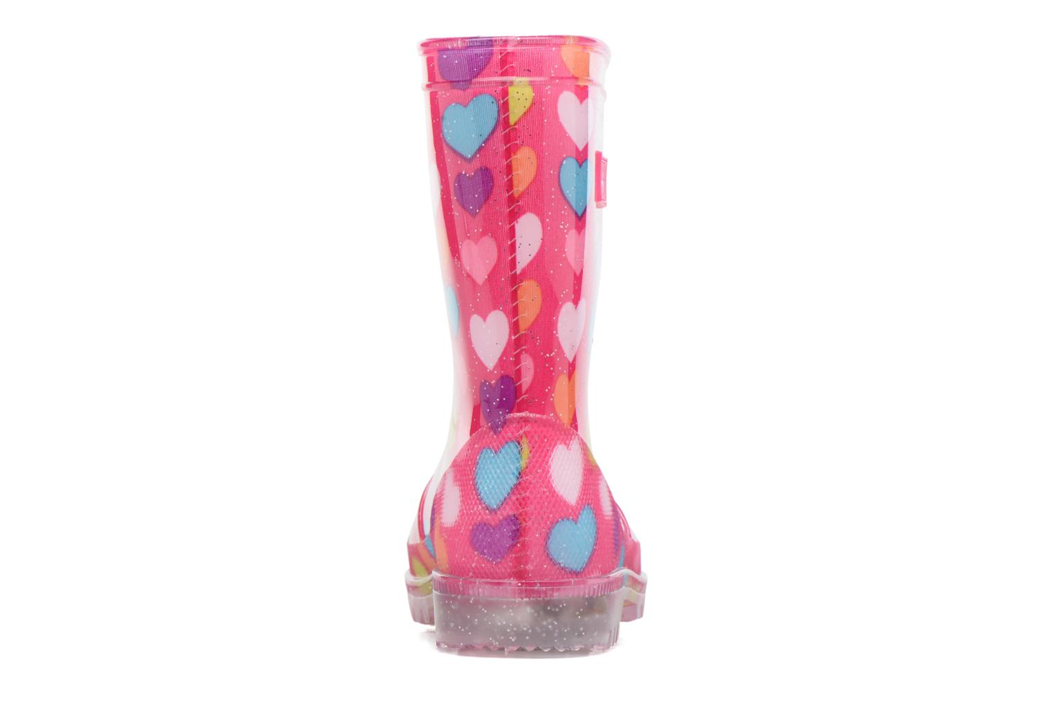 Bottes Be Only Loveme Rose vue droite