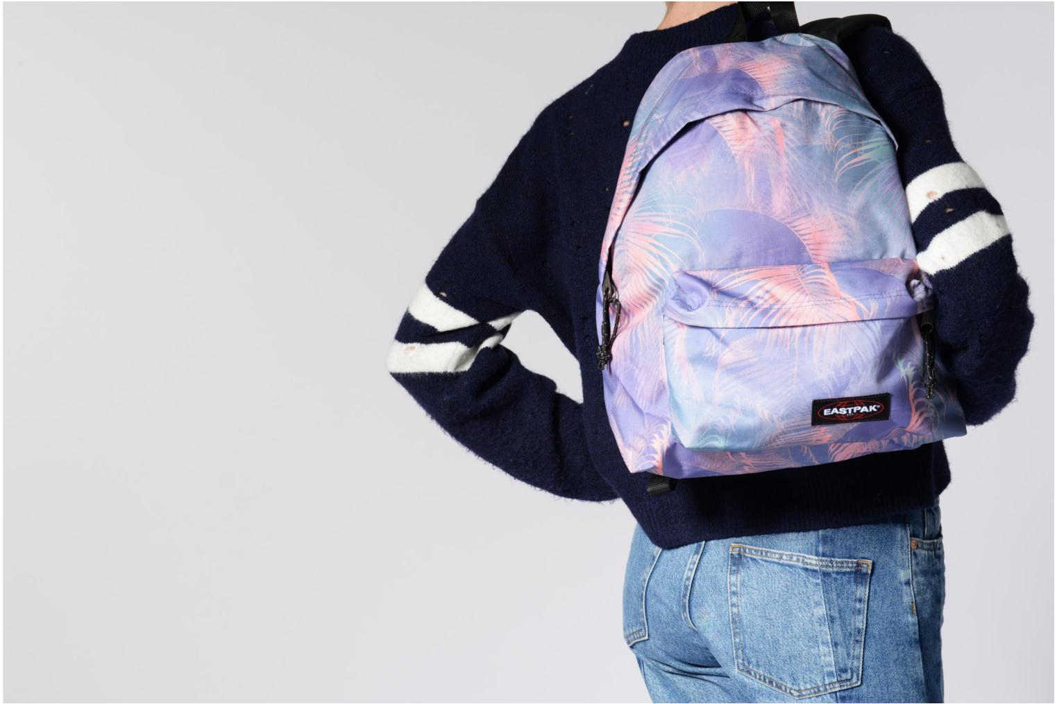 Rucksacks Eastpak PADDED PACK'R Sac à dos toile Pink view from above