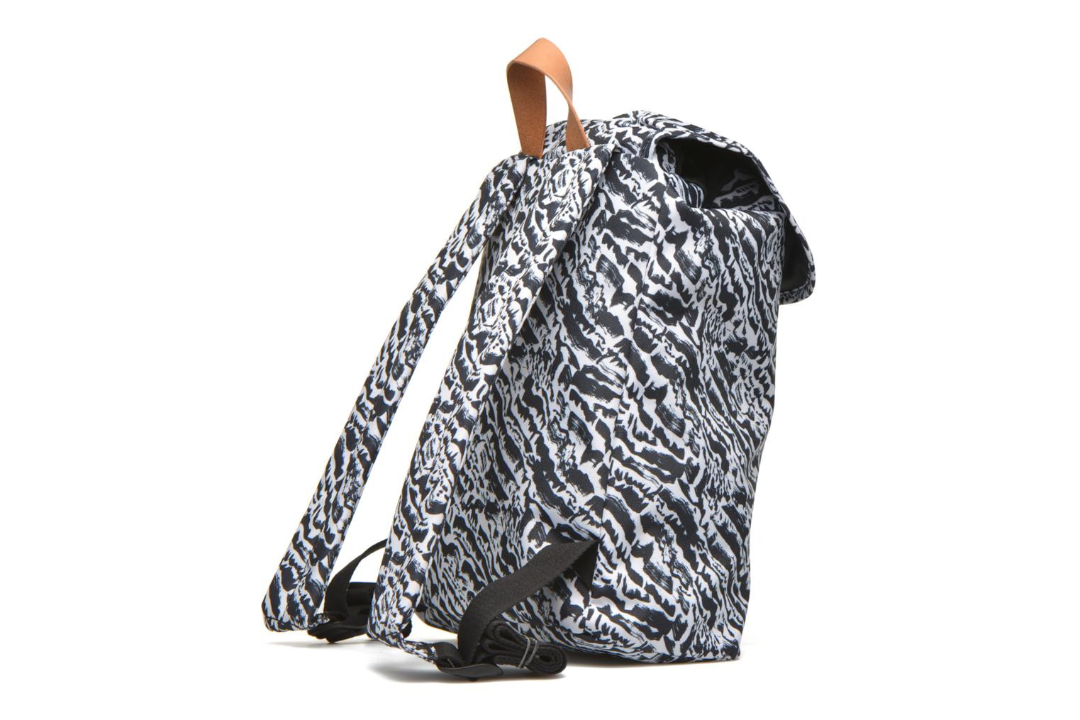 Rucksacks Eastpak KRYSTAL Sac à dos toile Black view from the right