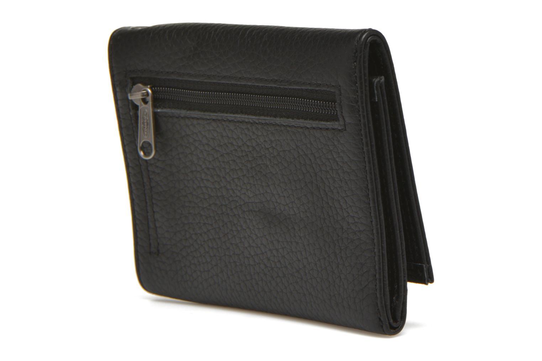 Portemonnaies & Clutches Eastpak CREW Portefeuille cuir schwarz ansicht von rechts