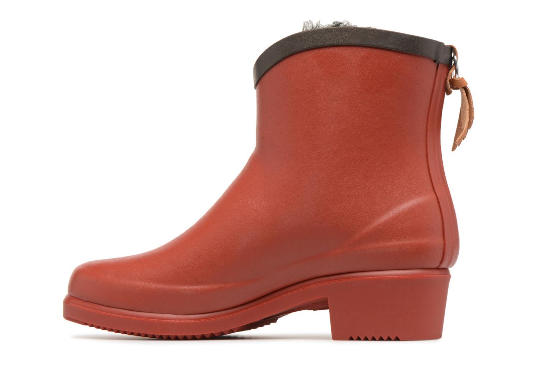 Bottines et boots Aigle Ms Jul Bot Fur Rouge vue face