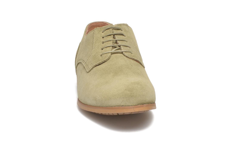 Chaussures à lacets Aigle Aporia Vert vue portées chaussures
