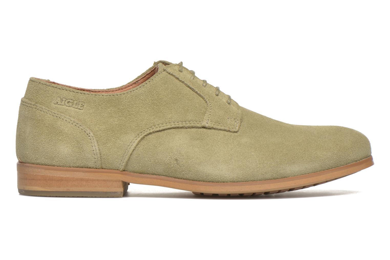 Chaussures à lacets Aigle Aporia Vert vue derrière