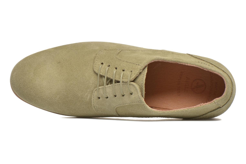 Chaussures à lacets Aigle Aporia Vert vue gauche