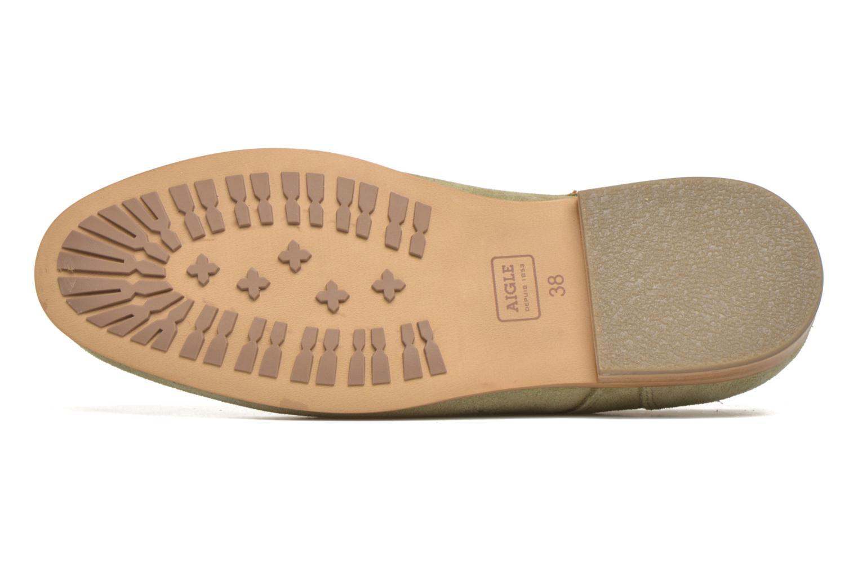 Chaussures à lacets Aigle Aporia Vert vue haut