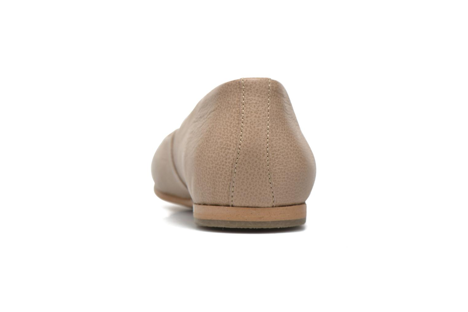 Ballet pumps Aigle Bostford Beige view from the right