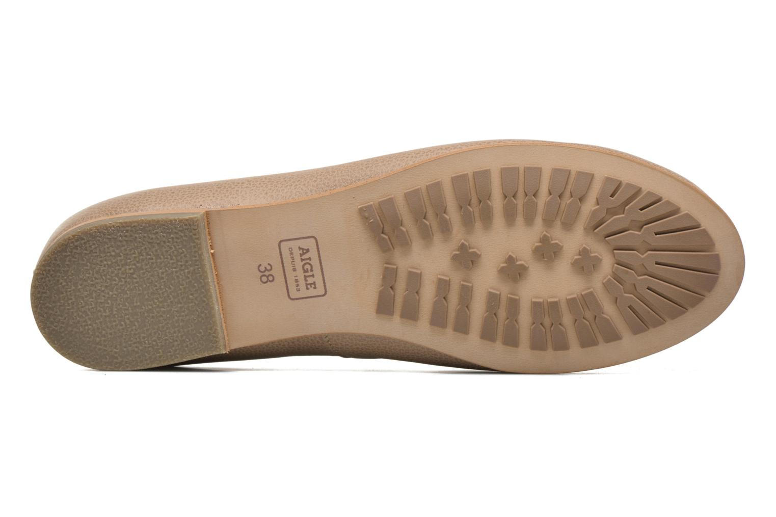Ballet pumps Aigle Bostford Beige view from above