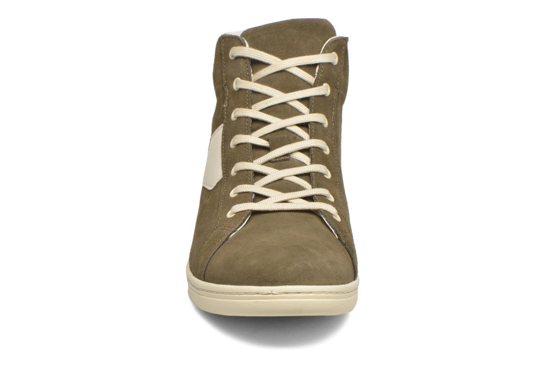 Baskets Aigle Yarden Time Mid M II Vert vue portées chaussures