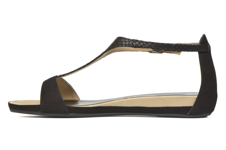 Sandales et nu-pieds Unisa Asunta Noir vue face
