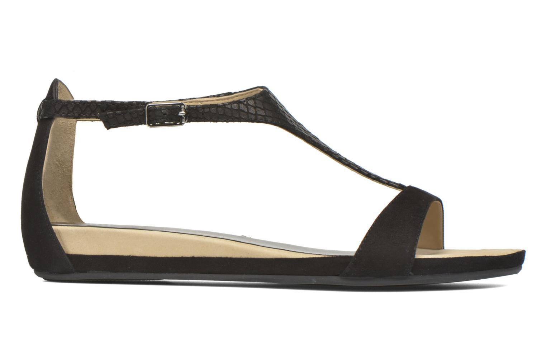 Sandales et nu-pieds Unisa Asunta Noir vue derrière