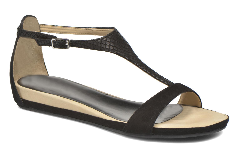 Sandales et nu-pieds Unisa Asunta Noir vue détail/paire