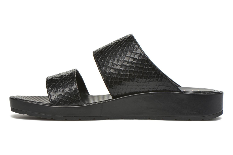 Sandales et nu-pieds Unisa Breo Noir vue face