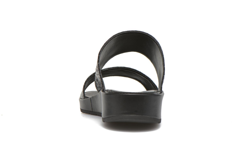 Sandales et nu-pieds Unisa Breo Noir vue droite
