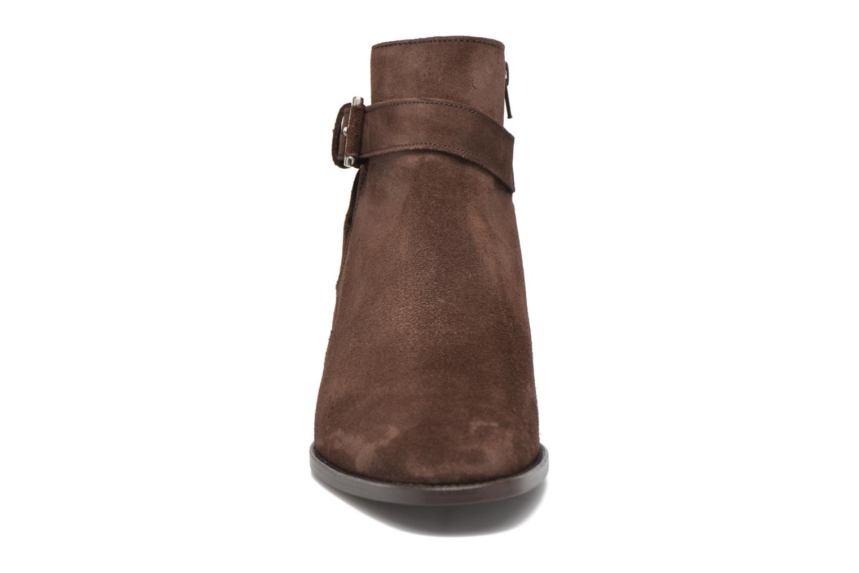 Bottines et boots Heyraud DOAN Marron vue portées chaussures