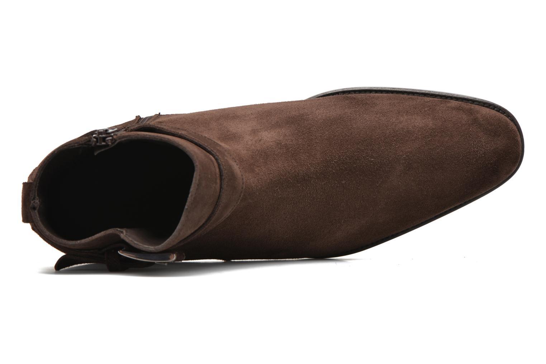 Bottines et boots Heyraud DOAN Marron vue gauche