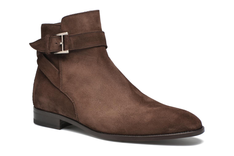 Bottines et boots Heyraud DOAN Marron vue détail/paire