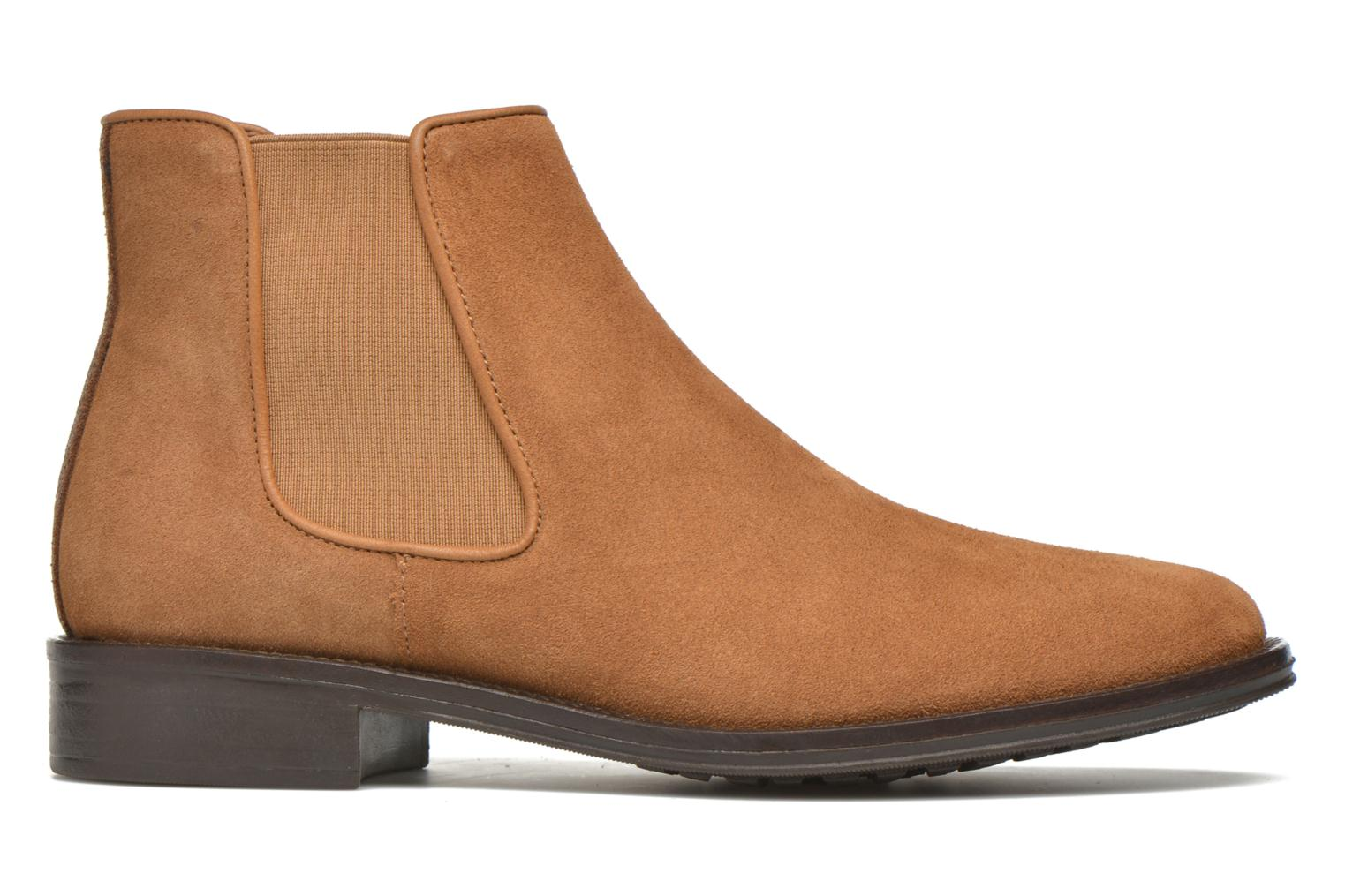 Ankle boots Schmoove Woman Newton chelsea suede Brown back view