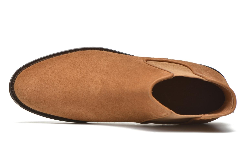 Boots en enkellaarsjes Schmoove Woman Newton chelsea suede Bruin links