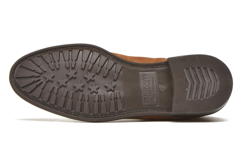 Boots en enkellaarsjes Schmoove Woman Newton chelsea suede Bruin boven
