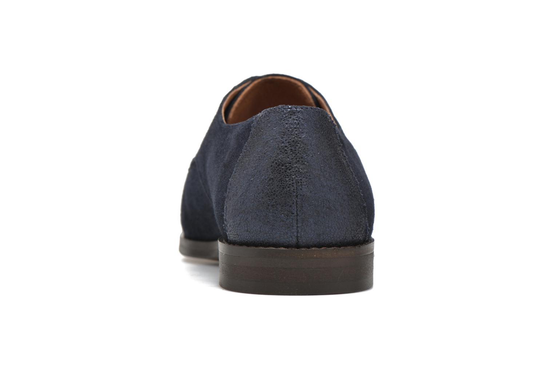 Chaussures à lacets Schmoove Woman Galaxy kid suede Bleu vue droite