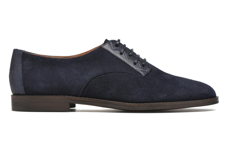 Chaussures à lacets Schmoove Woman Galaxy kid suede Bleu vue derrière