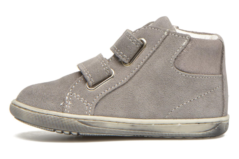Chaussures à scratch Primigi Niky Gris vue face