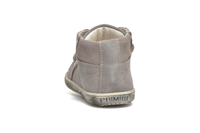 Chaussures à scratch Primigi Niky Gris vue droite