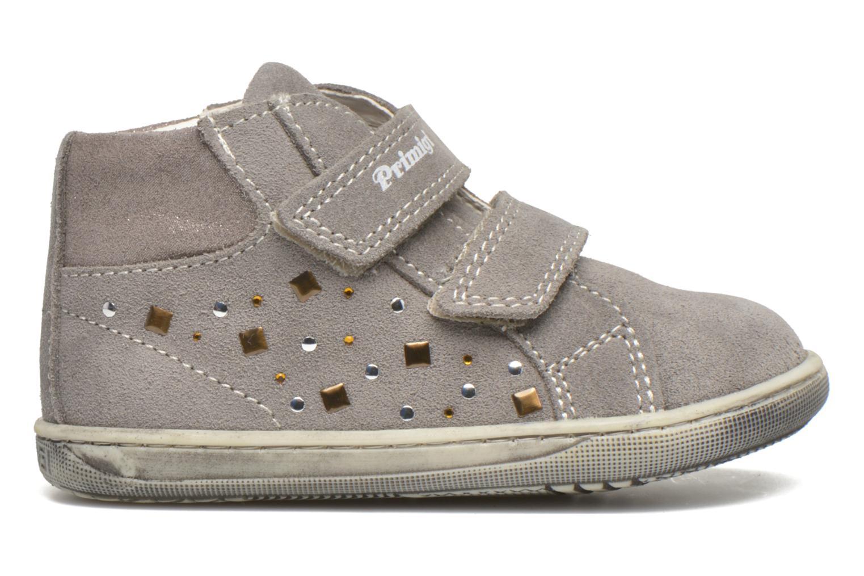 Chaussures à scratch Primigi Niky Gris vue derrière