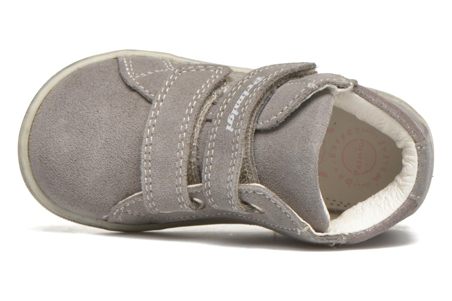 Velcro shoes Primigi Niky Grey view from the left