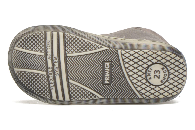 Chaussures à scratch Primigi Niky Gris vue haut