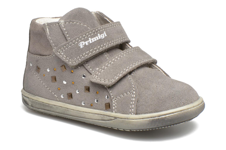 Chaussures à scratch Primigi Niky Gris vue détail/paire