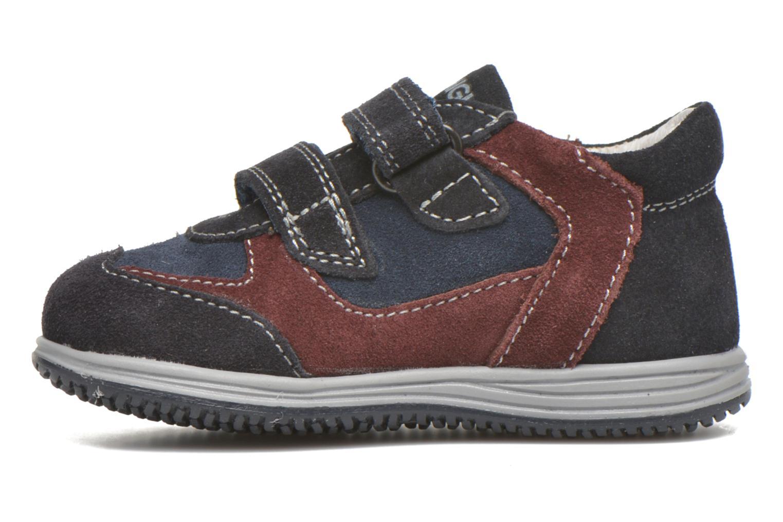 Zapatos con velcro Primigi Ghigo 7 Azul vista de frente