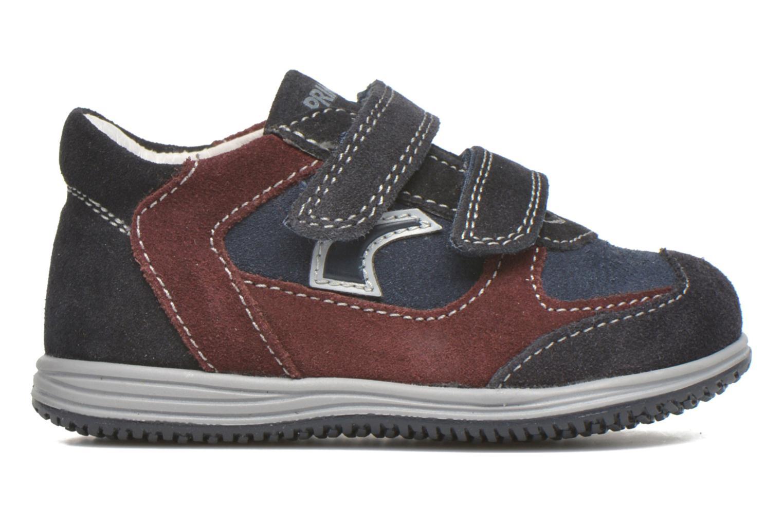 Chaussures à scratch Primigi Ghigo 7 Bleu vue derrière