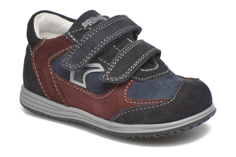 Velcro shoes Primigi Ghigo 7 Blue detailed view/ Pair view