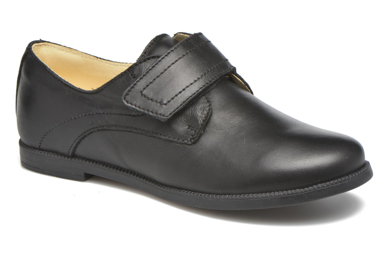 Velcro shoes Primigi Todd 1-E Black detailed view/ Pair view