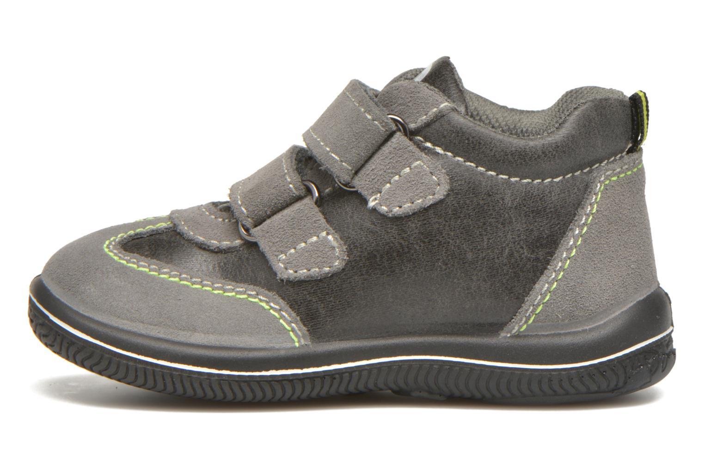 Chaussures à scratch Primigi Alfredo Gris vue face