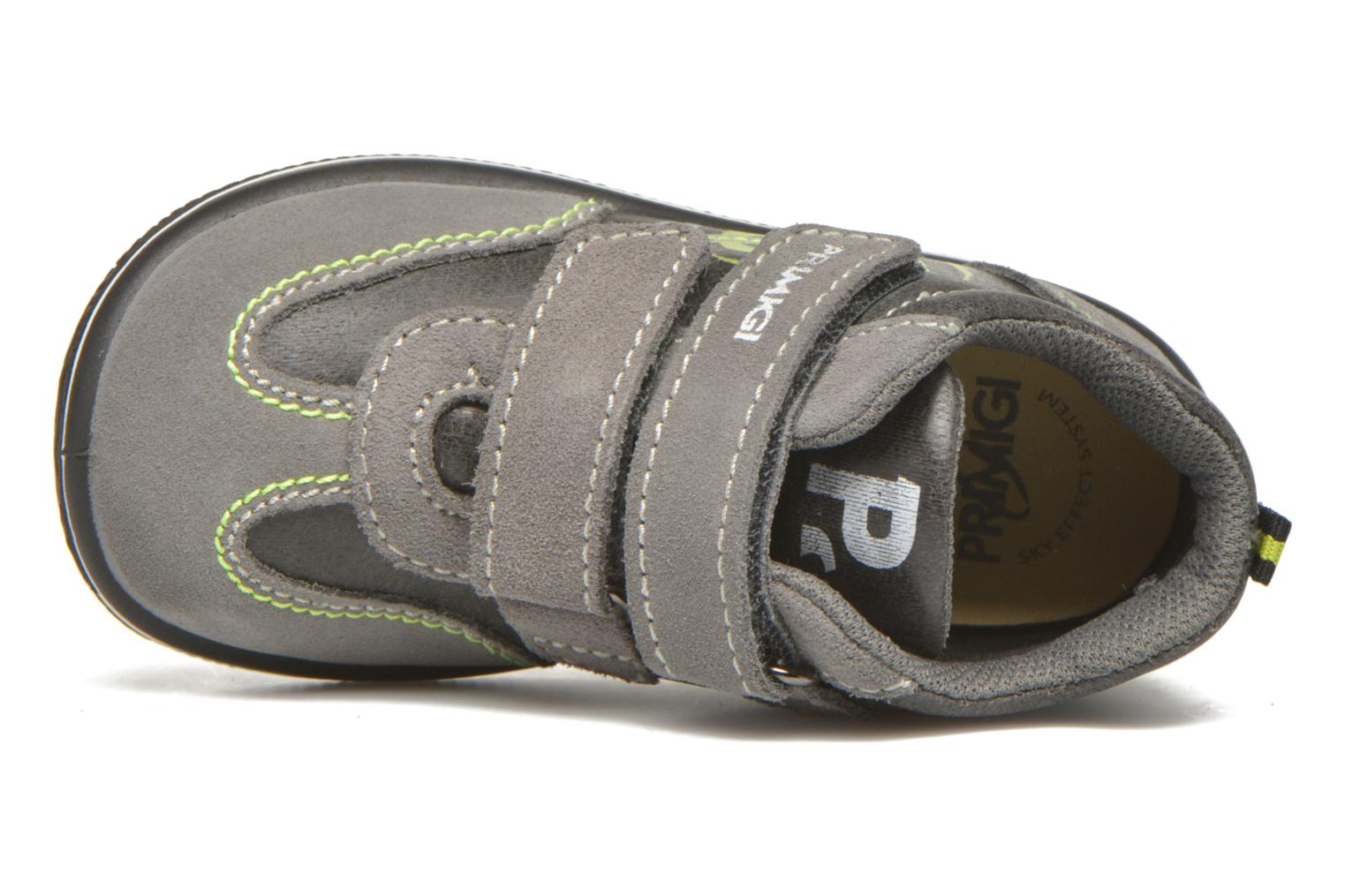 Velcro shoes Primigi Alfredo Grey view from the left