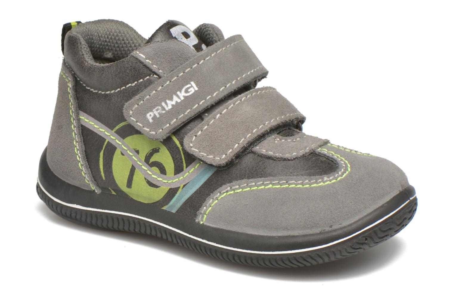 Velcro shoes Primigi Alfredo Grey detailed view/ Pair view