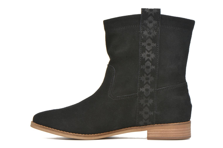 Laurel pull-on boot Black Suede