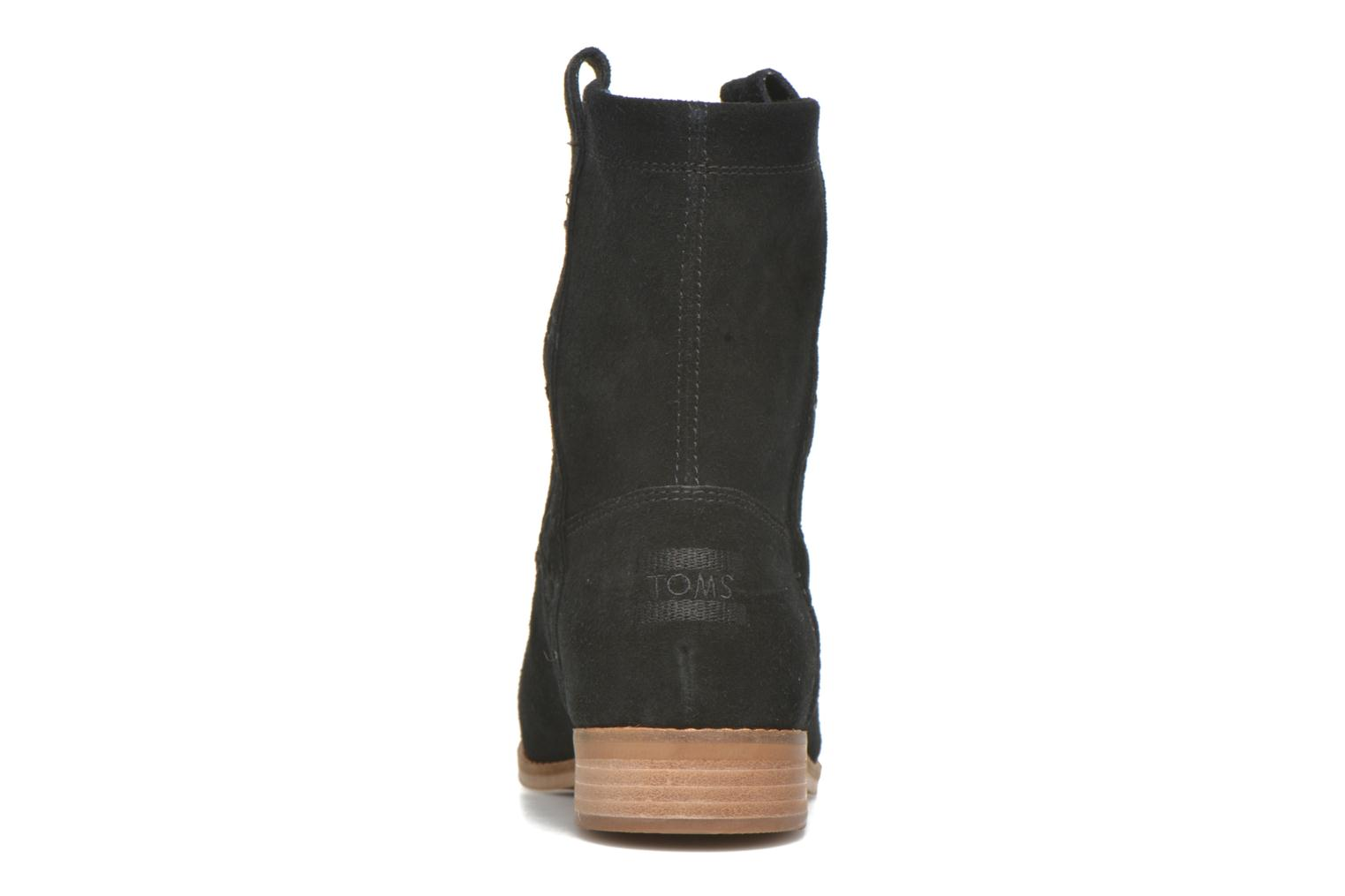Laurel pull-on boot Black Suede