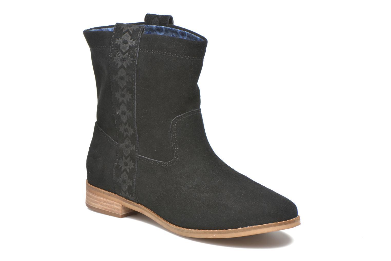 Bottines et boots TOMS Laurel pull-on boot Noir vue détail/paire
