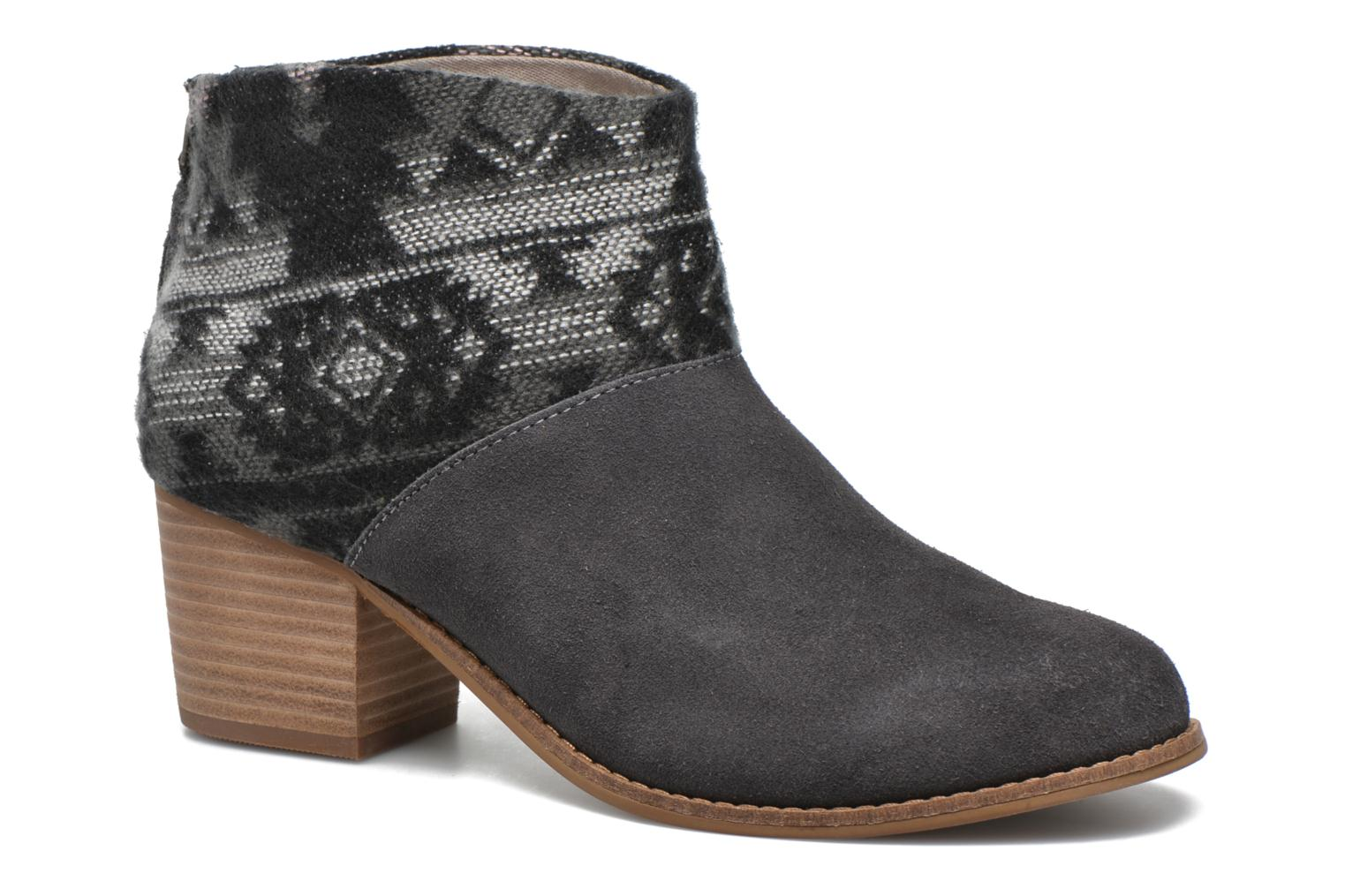 Leila bootie Grey Suede Tribal