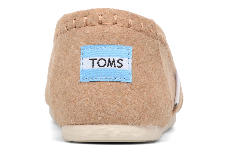 Seasonal classics W Toffee wool/faux shearling