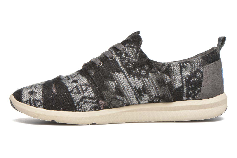 Sneakers TOMS Del Rey W Grijs voorkant