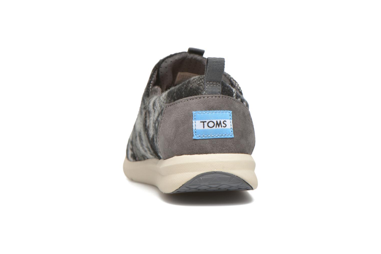 Sneakers TOMS Del Rey W Grijs rechts