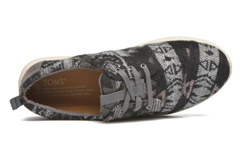 Sneakers TOMS Del Rey W Grijs links